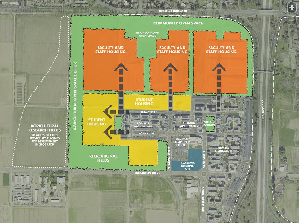 West-Village-LRDP-Plan