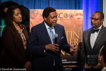 Burris Receives Civil Rights Leadership Award from Legislative Black Caucus