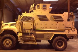 Call to Action Regarding Mine Resistant Ambush Protected (MRAP) Vehicle