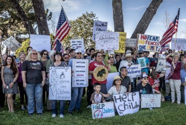 Dozens March in Woodland For GE, Others Stuck in ORR Custody in Yolo County