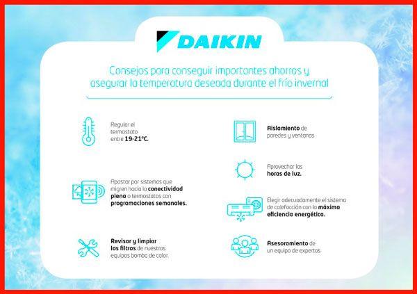 consejos de daikin
