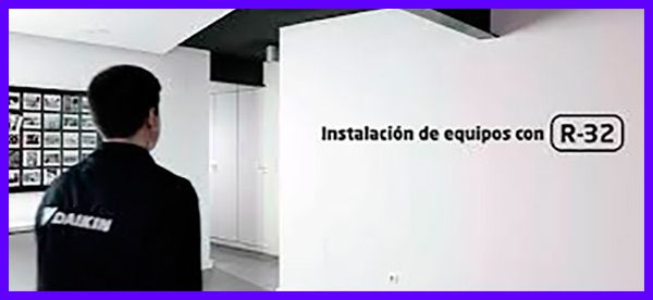 Video daikin instalación con R32