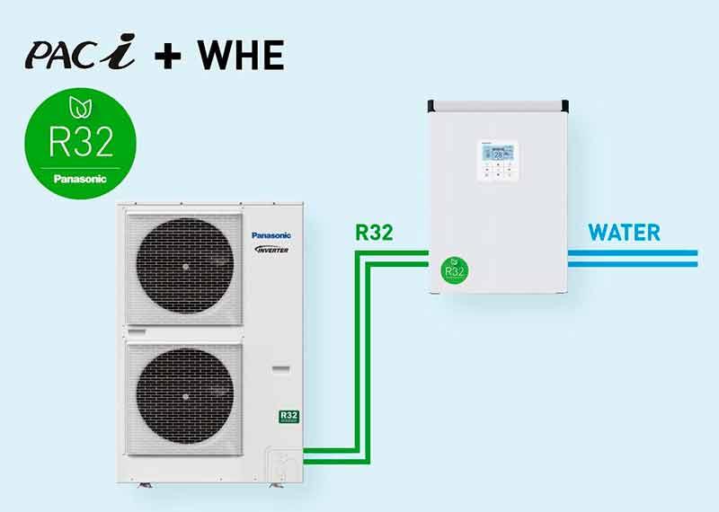 Panasonic-presenta-el-intercambiador-de-calor-por-agua-R32-PACi