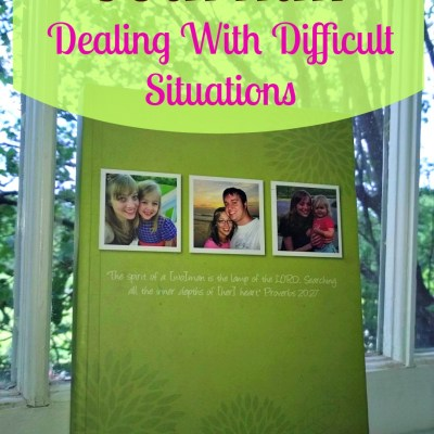 A Lesson From My Journal: Dealing With Difficult Situations
