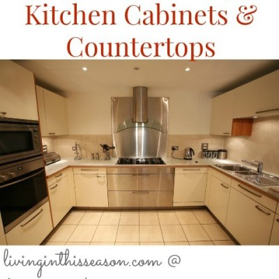 Organizing Kitchen Cabinets & Countertops