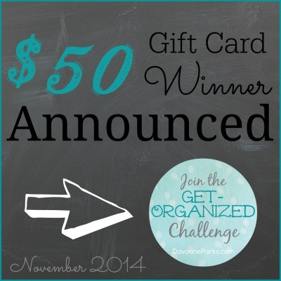 The $50 Amazon Gift Card Winner Is…