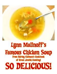 PRICELESS - One quart of famous chicken soup