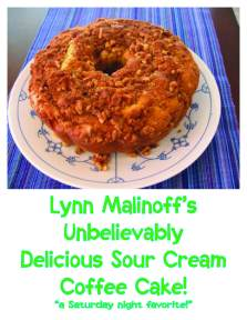 PRICELESS - One sour cream coffee cake
