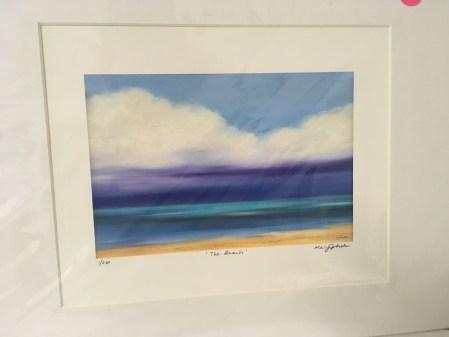 """Purple Sky Beach"" by Mary Johnston"