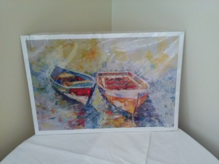 Two boat print by Frederick Payet