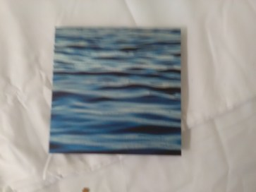 Wave wall plaque by Nancy Reid Carr