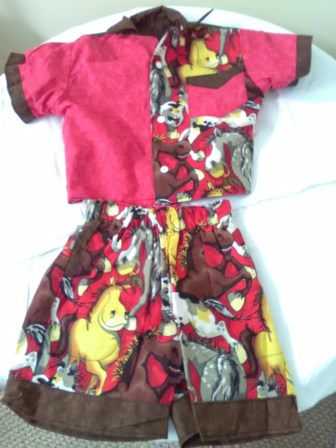 Children's horse outfit by Candi Koonce