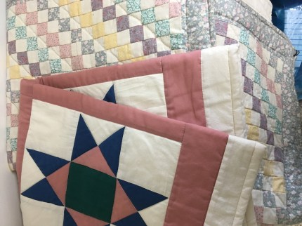 Set of two quilts