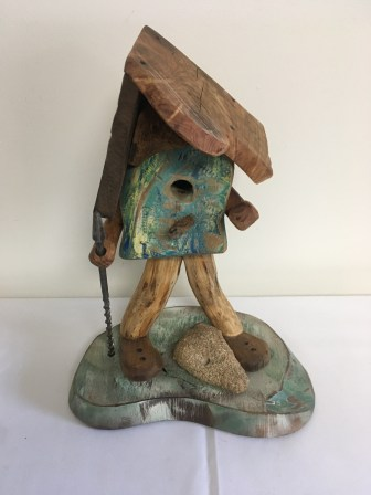 Wooden bird house by Andre Maiwald