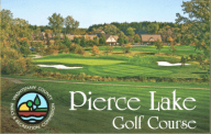 18-hole round of golf at Pierce Lake Golf Course from Washtenaw County Parks and Rec