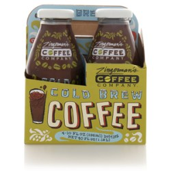 16 bottles of cold brew coffee (4 packs of 4), value of $62.99