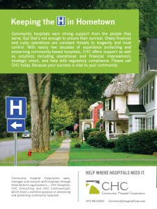Ads for Community Hospital Corporation