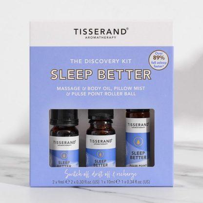 Tisserand Aromatherapy Sleep Better Discovery Kit
