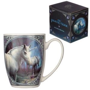 Lisa Parker Porcelain Mug - Journey Home Unicorn Design