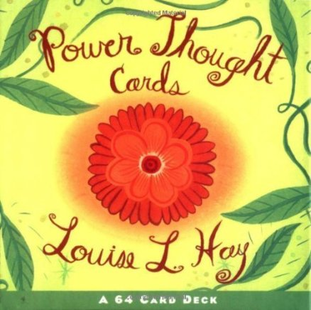 Power Thought Cards By Author Louise Hay