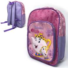 Deluxe Glitter front pocket backpack Mrs Potts
