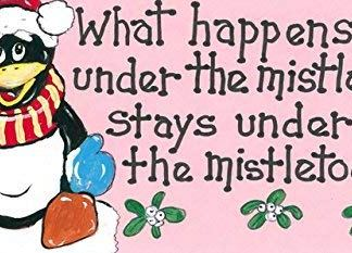 What Happens Under The Mistletoe Sign