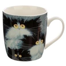 Collectable Porcelain Mug - Kim Haskins Cats