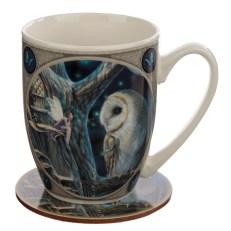 Porcelain Mug and Coaster Gift Set - Lisa Parker Fairy Tales