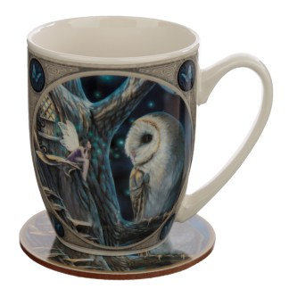 Porcelain Mug and Coaster Gift Set - Lisa Parker Fairy Tales