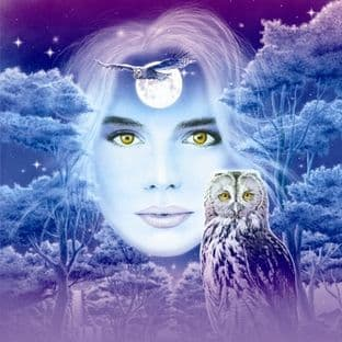 Moon Greetings Card & Music CD