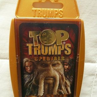 Pirates of the Caribbean: At World's End Top Trumps Specials Card Game