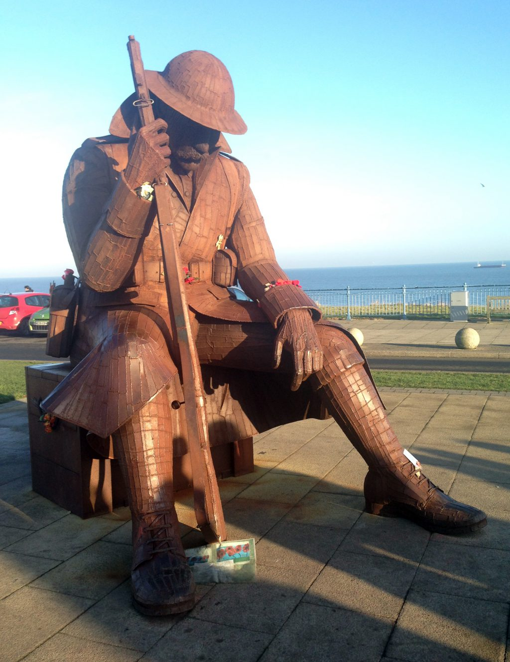 Ray Lonsdale's sculpture at Seaham, Co Durham