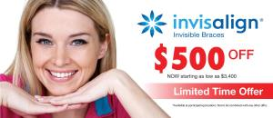 Invisalign Braces Offer at Dawson Dental