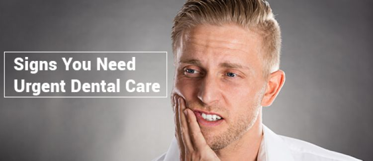 4 Signs You Need Urgent Dental Care