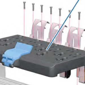 Q6651-60337 Carriage Flex Cables