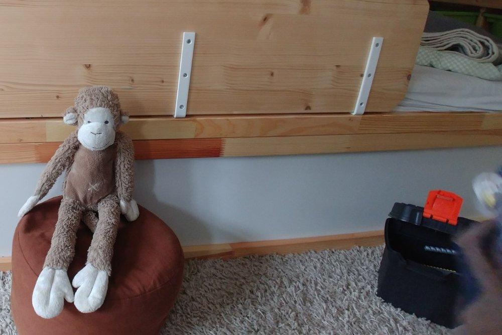 Etagenbett Hack : Kinderzimmer hack ikea kura etagenbett mit mehrwert für zwei