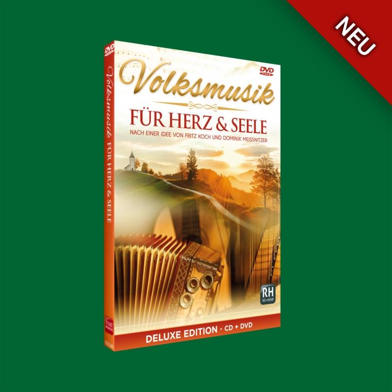 Volksmusik für Herz und Seele – CD + DVD