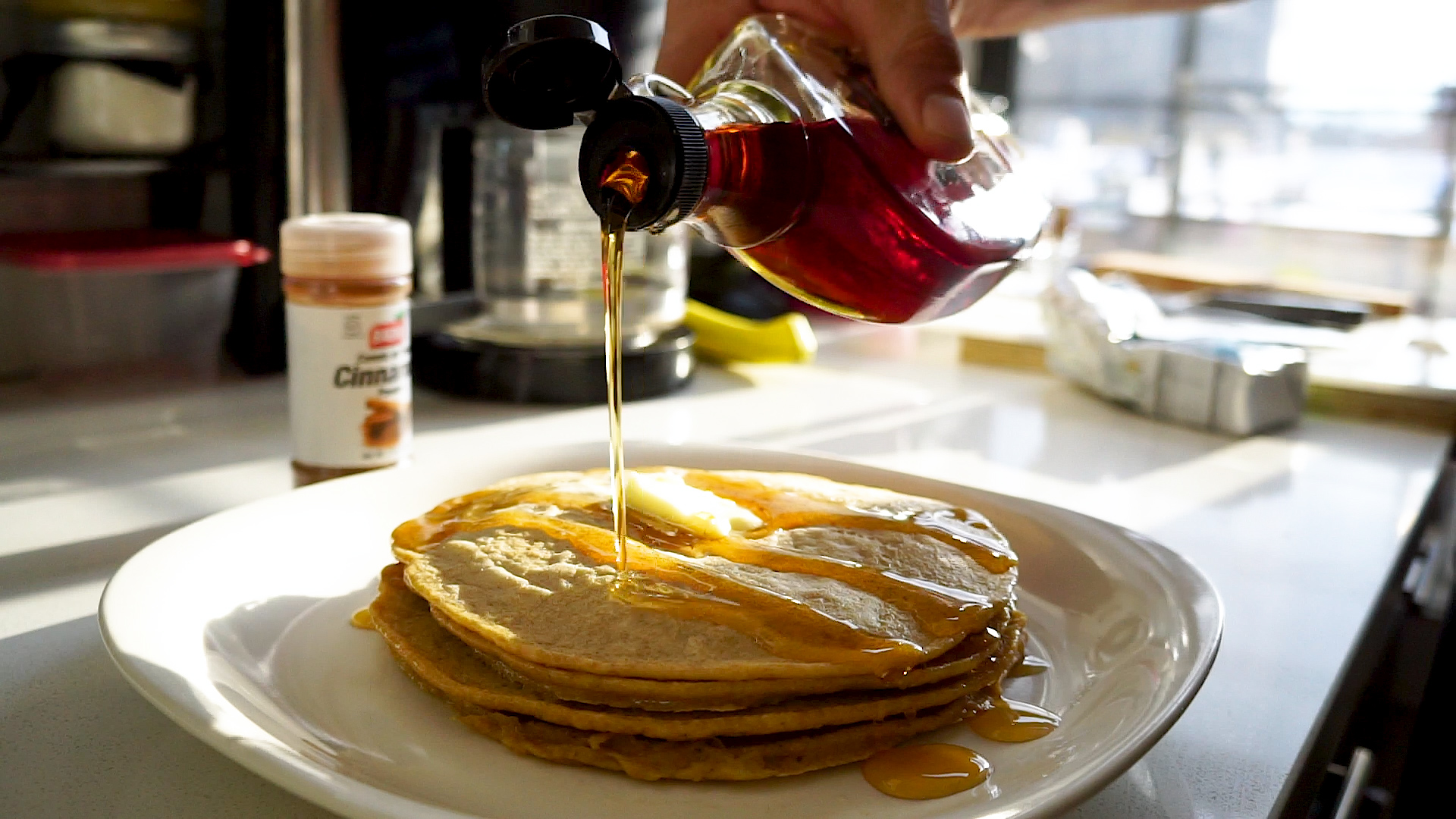 einkorn wheat pancake