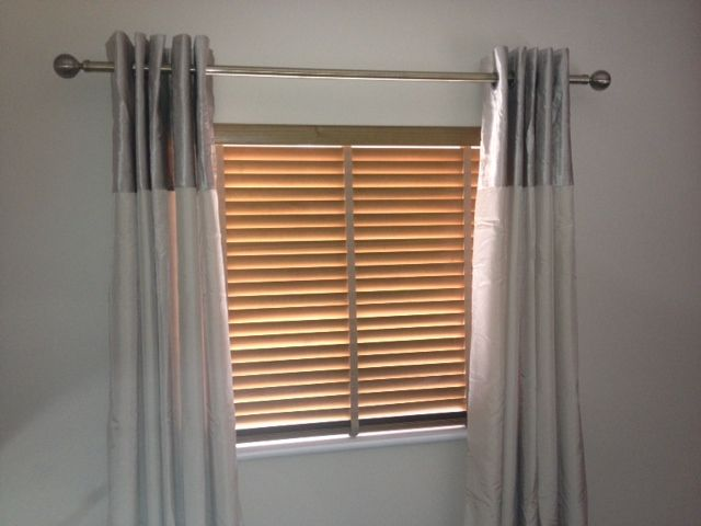 curtain poles curtain day blinds in
