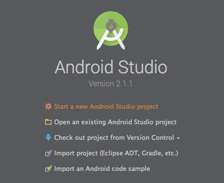 Android Studio 2.1