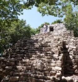 Xcaret Maya Ruins