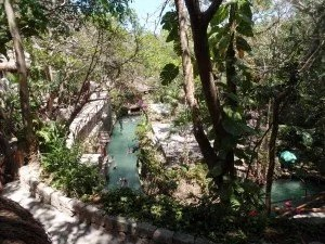 Underground Rivers at Xcaret Park