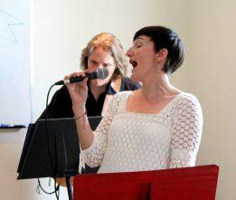 Performing at Maple Leaf Cottage June, 2015