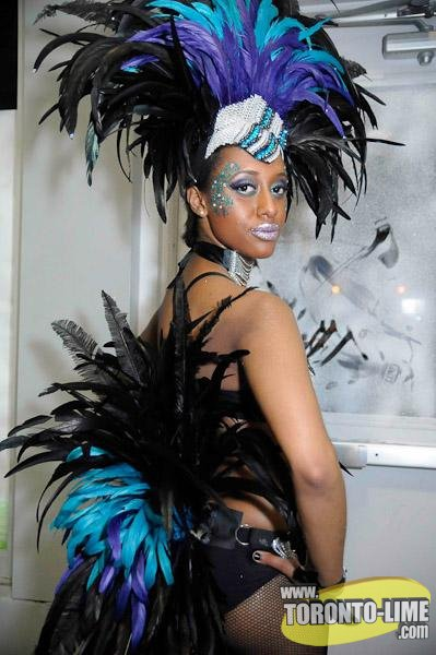 First Caribana costume - 'Storm'