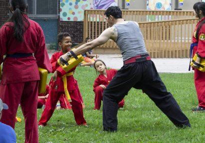 Martial Arts Class - Leslie & Jones Park, Leslieville