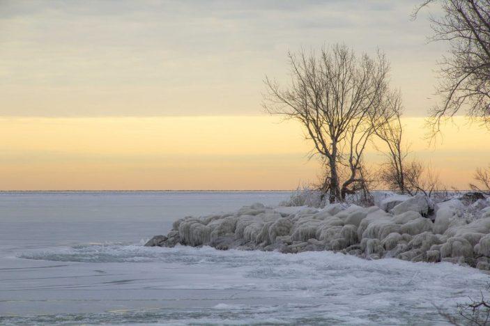 Completely Frozen - Ashbridges Bay