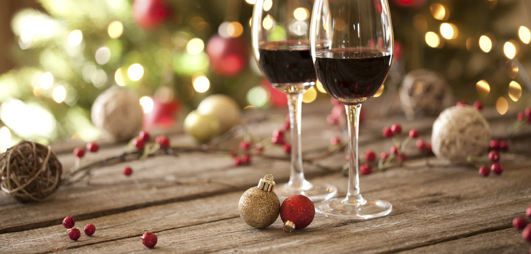 Image result for red wines, christmas