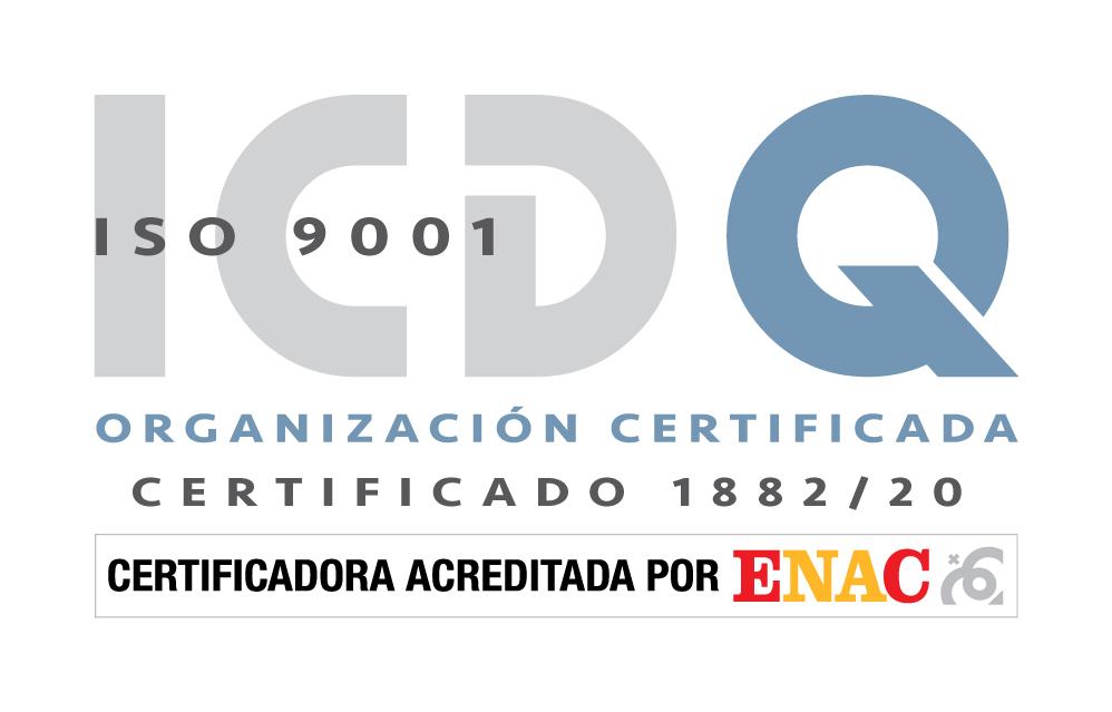 Certificado  GRUPO DAYJO LOGISTICA 9001
