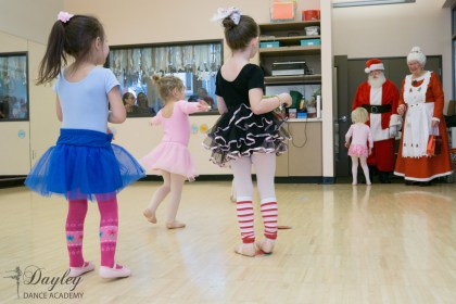 Santa interrupting dance today