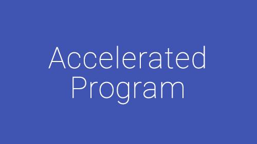 Accelerated Program, Dance Training
